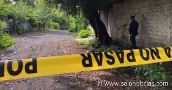 Asesinan a joven en colonia de San Miguel - Solo Noticias