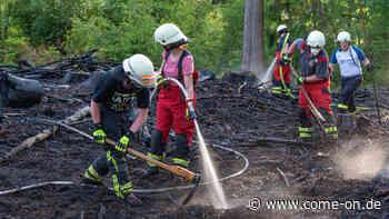 Kierspe (NRW): Waldbrand sorgt für Großeinsatz der Feuerwehr - come-on.de
