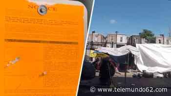 Fuerte freno: detienen planes de desalojo de indigentes - Telemundo 62