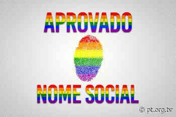 Uso no nome social pela população LGBTQIA+ é aprovado em Lavras - Partido dos Trabalhadores