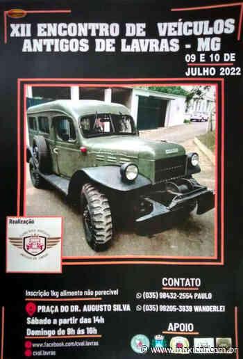 XII Encontro de Veículos Antigos de Lavras, MG • 09 e 10/07/2022 - Portal Maxicar de Veículos Antigos