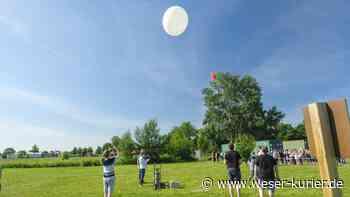 Lukas-Schule in Bassum startet Ballon zum Wetterdatensammeln - WESER-KURIER - WESER-KURIER