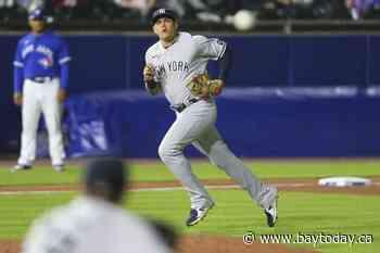 Cole, Sánchez, Chapman come through as Yanks edge Blue Jays