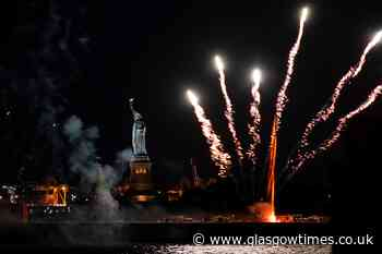 New York celebrates relaxation of coronavirus restrictions with fireworks - Glasgow Times
