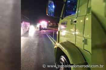 Homem de 40 anos morre atropelado na BR-470, em Indaial - Jornal de Pomerode
