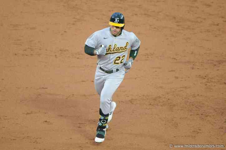 Athletics Reinstate Ramon Laureano From 10-Day IL