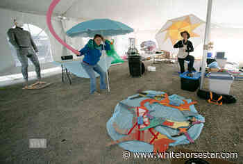 Whitehorse Daily Star: Covid Body-Checks Puppet Event - Whitehorse Star
