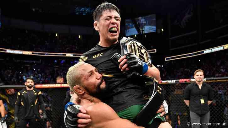 Chicharito le contesta al nuevo campeón de UFC, el mexicano Brandon Moreno: 'Es algo inspirador y motivamente' - ESPN