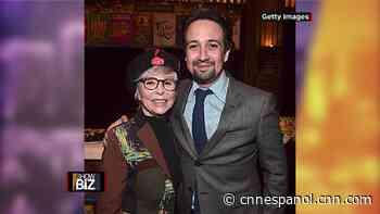 Rita Moreno defiende a Lin- Manuel Miranda - CNN