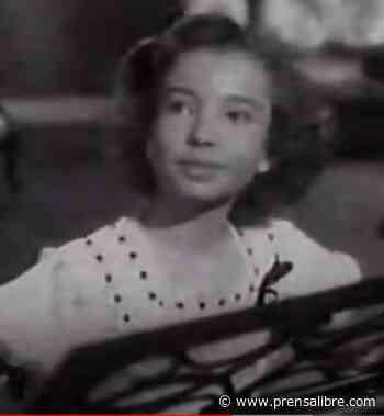 """La niña guatemalteca descubierta por Mario Moreno """"Cantinflas"""" y que fue parte de la época de oro del cine mexicano - Prensa Libre"""