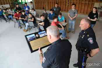 Bristol-Plymouth Regional Technical School Students Complete Vehicle Garage for Bridgewater Police Department - John Guilfoil Public Relations
