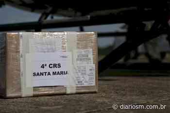 Santa Maria recebe mais 4, 2 mil vacinas para segunda dose contra a Covid-19 - Diário de Santa Maria