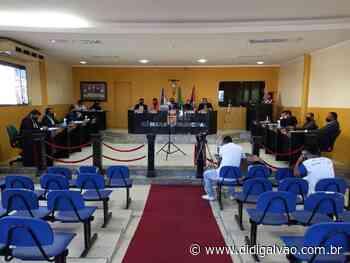 Sessão desta terça-feira conta com os 13 vereadores de Santa Maria da Boa Vista - Blog do Didi Galvão