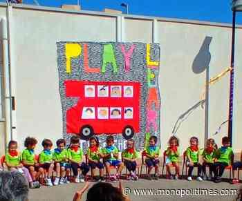 """Monopoli, alla """"Modugno-Galilei"""" oltre 80 alunni tra 4 e 5 anni terminano i progetti PON """"in presenza"""" - The Monopoli Times"""