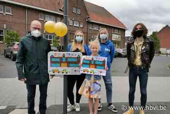 Kunst aan de schoolpoort - Het Belang van Limburg