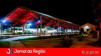 Estação Ferroviária de Louveira recebe iluminação vermelha em apoio à doação de sangue - JORNAL DA REGIÃO - JUNDIAÍ