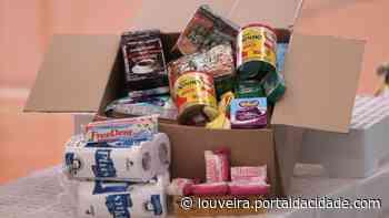 Louveira segue entrega de cestas de alimentos no Burck e CEIL/Centro - Portal da cidade