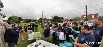 Déchets à Saint-Aubin-lès-Elbeuf : quarante bénévoles ont nettoyé les bords de Seine - actu.fr