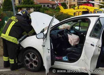 Due incidenti ad Agnellengo e Oleggio. Centauro grave in ospedale - La Voce Novara e Laghi - La Voce di Novara