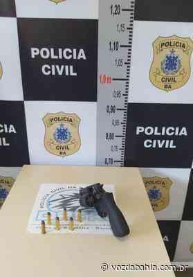 Adolescente com revólver municiado é apreendido em Feira de Santana - Voz da Bahia