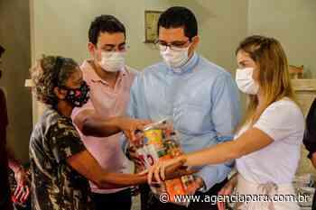 Estado entrega alimentos para 50 famílias em dois bairros de Ananindeua - Para