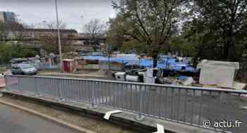 Seine-Saint-Denis. A Bagnolet, un campement évacué près du périphérique - actu.fr