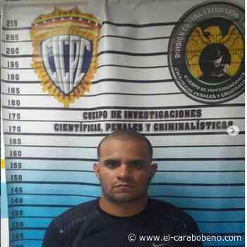 Detenido integrante del grupo criminal de la Cota 905 en Miranda - El Carabobeño