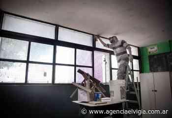 Continúan las obras de refacción y mejoras en escuelas de Quilmes - Agencia El Vigía