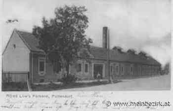 Archiv ...: Damals & Heute: POTTENDORF: Fabriksschlot der Färberei 1892 bis 2021 - Steinfeld - meinbezirk.at