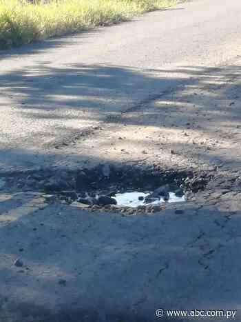 Pobladores de Villeta denuncian pésima construcción de asfaltado de calles vecinales - Nacionales - ABC Color