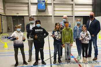Jonge piloten testten hun drone-talent - Het Nieuwsblad
