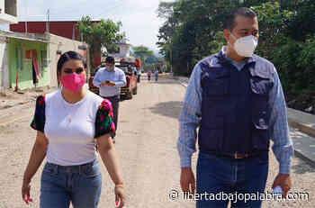 Acusan de corrupción a Alcalde de Coatepec por favorecer a invasores del bosque; inauguró pavimentación en calzada histórica, denuncian - Libertadbajopalabra.com