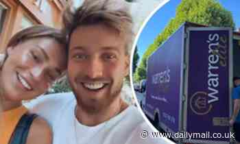 Sam Thompson and Zara McDermott moving out of 'forever home' to stay at Sam's mother's house - Daily Mail