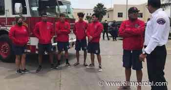 Reciben equipo y maquinaria salvavidas y Bomberos de Rosarito - FRONTERA.INFO