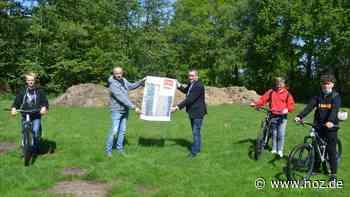 Neben Skate-Anlage: Initiative von Jugendlichen: Salzbergen soll Bikepark bekommen - noz.de - Neue Osnabrücker Zeitung