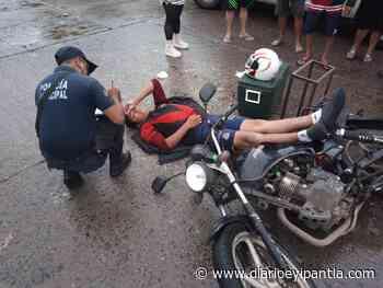 Carro fantasma choca con una motocicleta en Catemaco - Diario Eyipantla