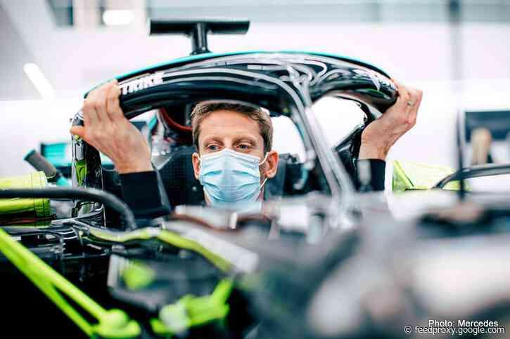 Grosjean's run in Mercedes at Le Castellet postponed
