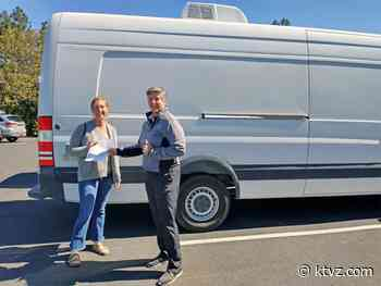 Humane Society of CO gives van to Companion Animal Medical Project to help homeless - KTVZ