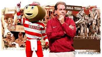 College football coaching showdown: Is Alabama or Ohio State the better job? - ESPN India