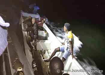 Rescatadas cinco personas que habían quedado a la deriva en Tumaco - BC Noticias