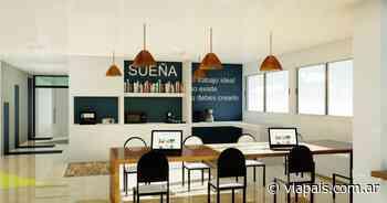 Así será el espacio de coworking que tendrá Concordia - Vía País