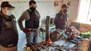 Concordia: secuestro de armas por raid delictivo - UNO Entre Rios