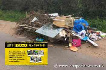 SCRAP fly-tipping campaign launched in Dorset | Bridport and Lyme Regis News - Bridport and Lyme Regis News