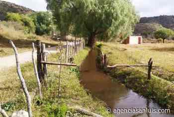 San Luis Agua refuncionalizó un canal de riego en San Francisco - Agencia de Noticias San Luis