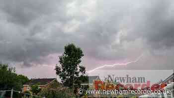 London weather: Met Office yellow warnings for thunderstorms - Newham Recorder