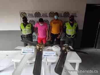 Dos capturados por hurto de abanicos de colegio de Talaigua Nuevo - EL HERALDO