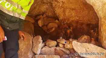Tacna: Policía halla restos óseos en cueva del sector Pampa Yuni - LaRepública.pe