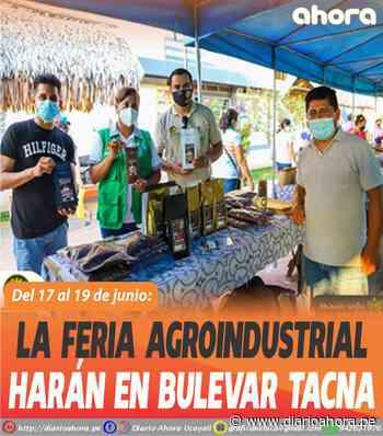 La Feria Agroindustrial harán en bulevar Tacna - DIARIO AHORA