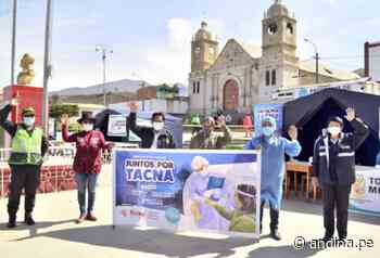 Región Tacna se coloca en segundo lugar en ejecución presupuestal para enfrentar covid-19 - Agencia Andina