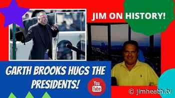 WATCH: Jim On History - Garth Brooks Hugs The Presidents! - Jim Heath TV